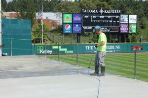 Cheney Stadium SCP Spraying